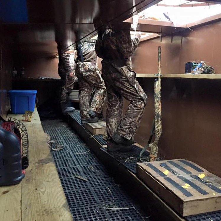 Experience Our Pit Blinds Concealed Comfort Waterfowl Pit