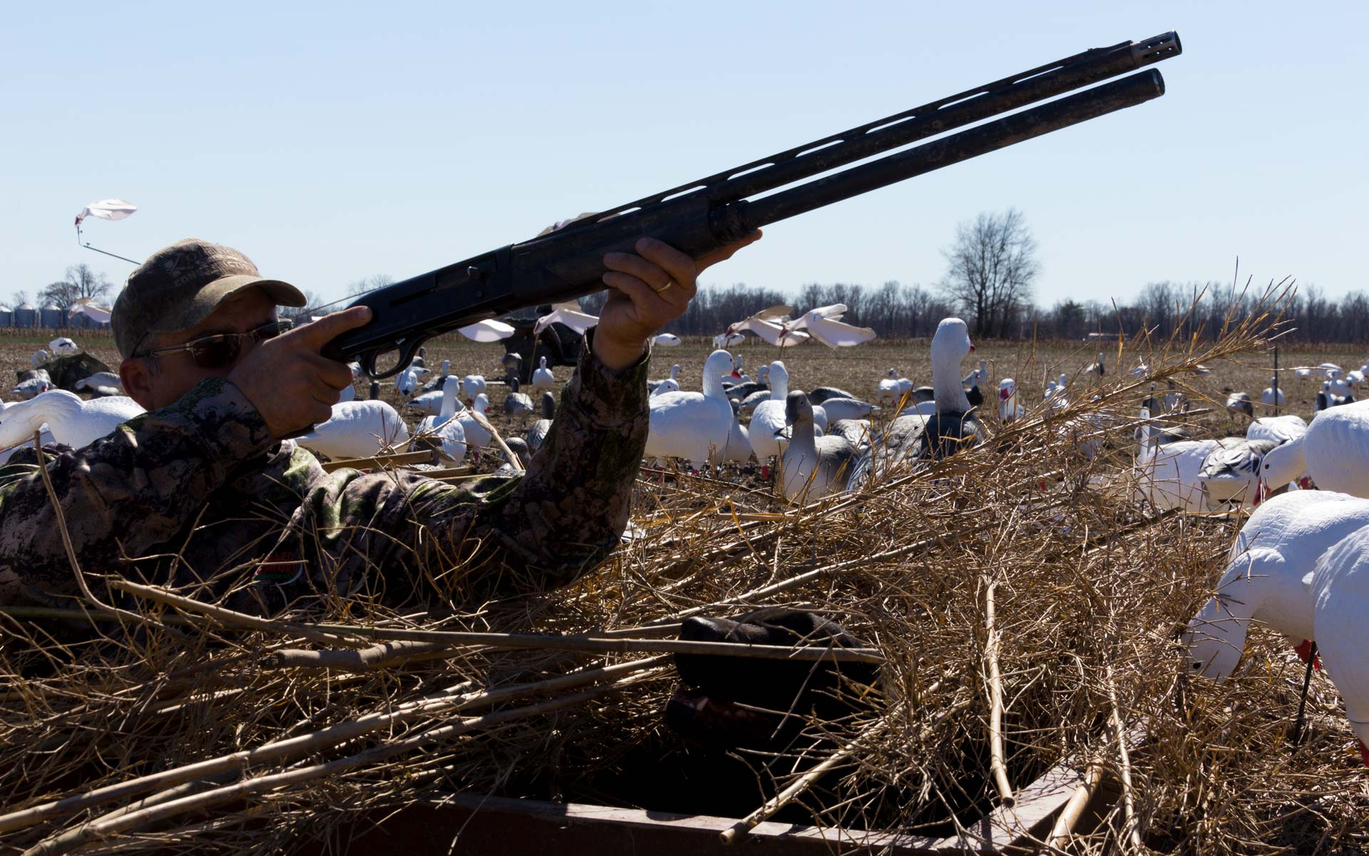 Concealed Comfort Waterfowl Pits Duck And Goose Hunting